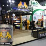 Commando Drinking of KSB Booth in Thaifex 2018